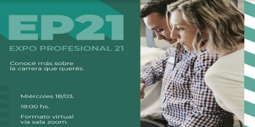 La Expo Profesional 21 se realizará en forma virtual