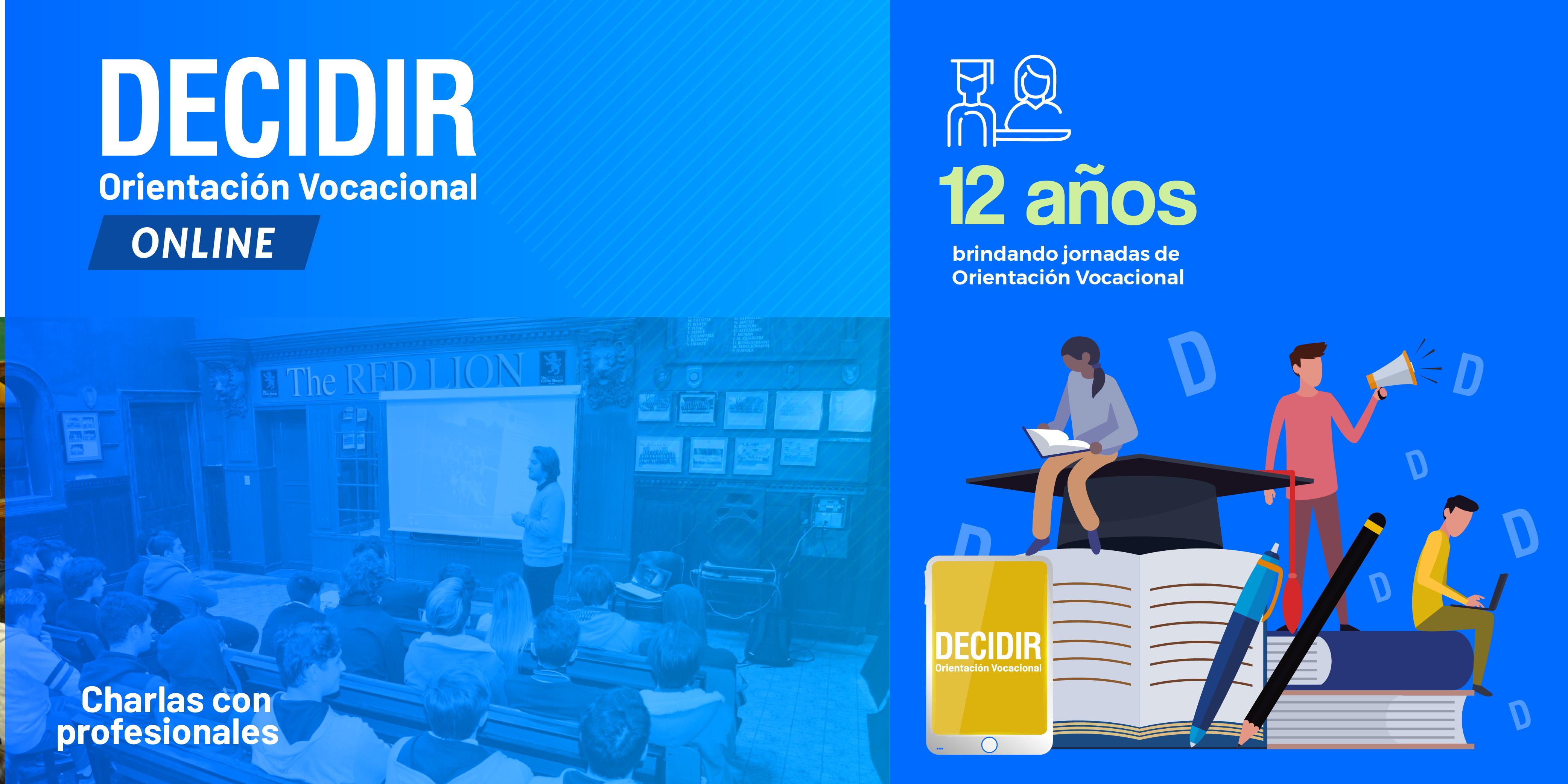 Decidir online: próximas fechas de las jornadas de orientación vocacional
