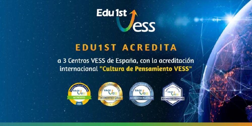 Cultura de Pensamiento VESS: Edu1st acreditó a tres escuelas de España