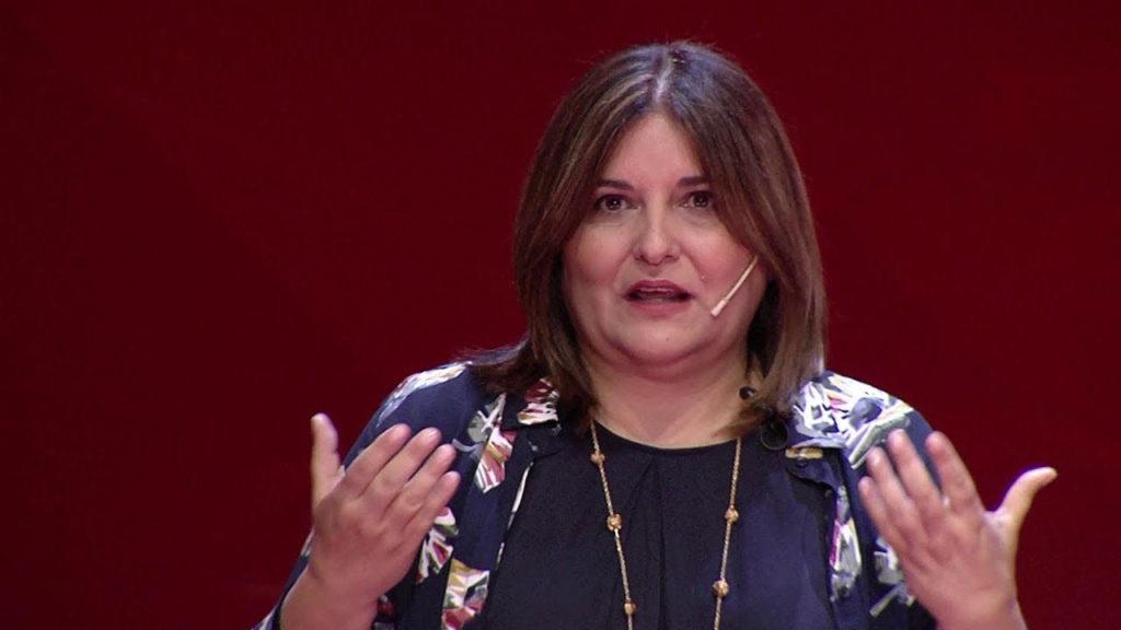 Gloria Vidal, exministra de Educación de Ecuador