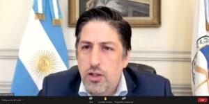 El ministro de Educación de la Nación, Nicolás Trotta, disertó en la 65º Jornada Federal de Gestión Educativa de ADEEPRA